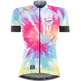 Northwave Hippie SS Jersey Women Switch Line rainbow